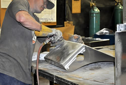 EZ Fabricating Metal Finishing